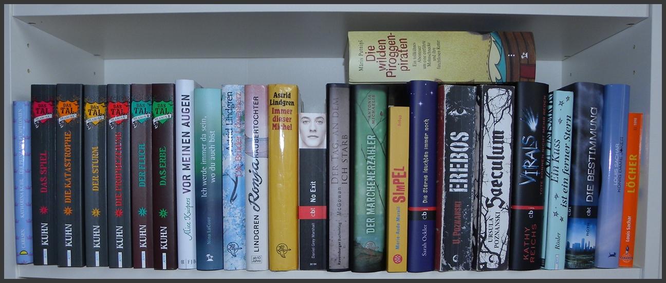 Bücherreihe regal  Blick ins Regal | Lesemomente | Seite 2