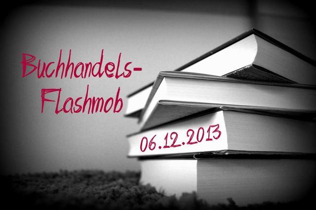 Buchhandels-Flashmob