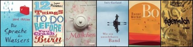 """Nominierungen in der Sparte """"Jugendbuch"""""""