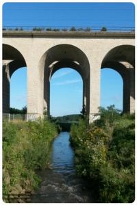 Das Viadukt am Obersee