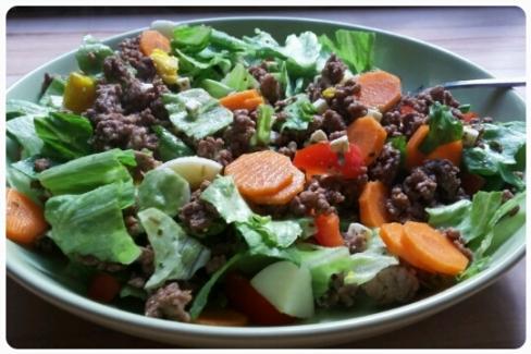 "Frischer Salat am ""Tu dir Gutes""-Sonntag"