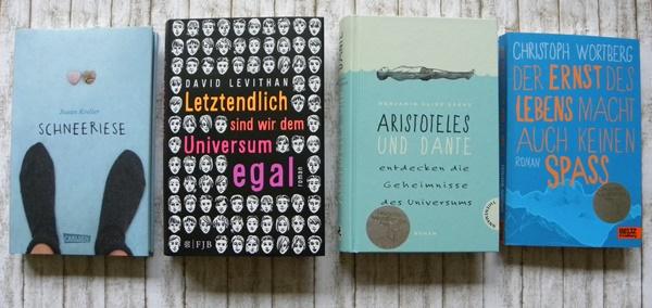 Nominierte Bücher aus der Sparte Jugendbuch, die ich gelesen habe