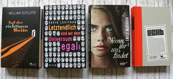 Nominierte Bücher aus der Sparte Jugendjury, die ich gelesen habe
